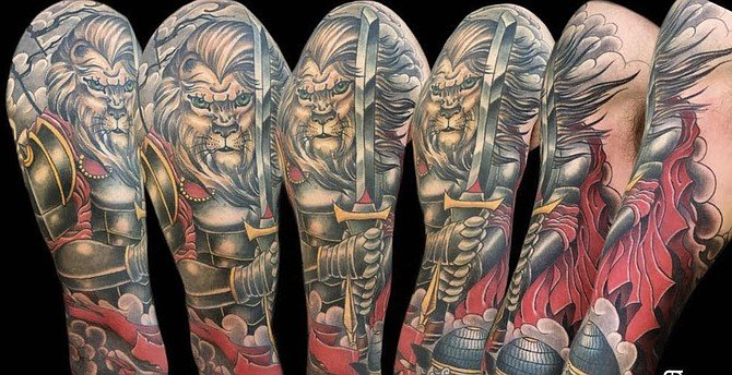 From Pete Vaca's sleeve tattoos