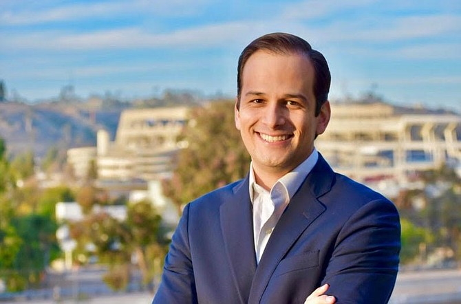 Raul Campillo, ultimate victor in the Seventh District council race
