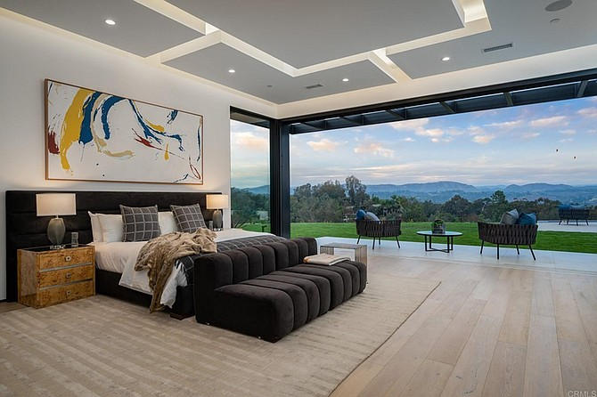 People who live in glass houses should probably do so in a place like Rancho Santa Fe.