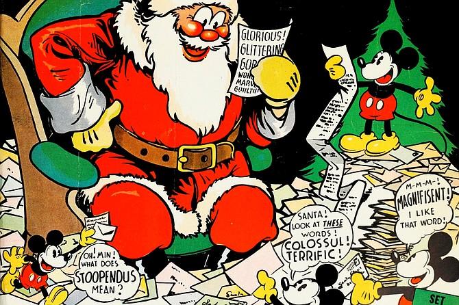 Santa's Workshop: Disney does Christmas