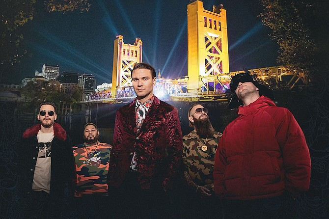 Dance Gavin Dance performing a fan-voted setlist featuring hits and tracks that have never been played live, all from the bands hometown in Sacramento on the iconic Tower Bridge.