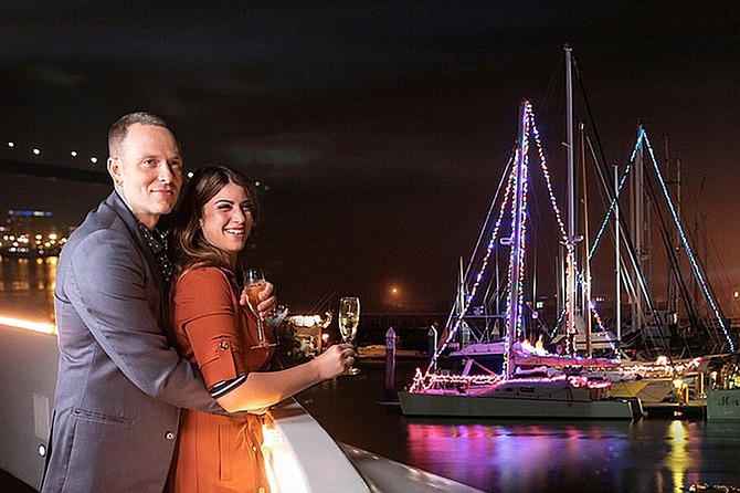 Come and get in the spirit aboard our beautifully decorated yacht and enjoy holiday music, scenic sights and a special menu inspired by the season.