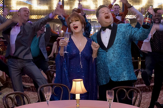 The Prom: Meryl Streep and James Corden talk-sing to the rafters Ryan Murphy's the all-around unlikeable feature.