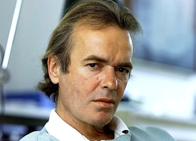 Martin Amis - every male writer under 45 would secretly like to be him.