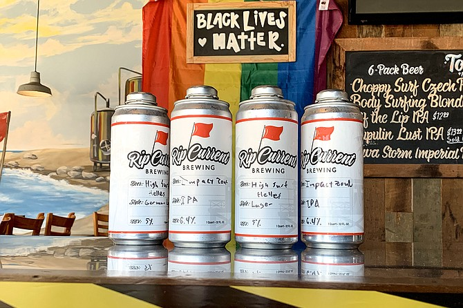 Rip Current Brewing adopted screw top crowlers in 2020, and (unrelated) may have new ownership in 2021