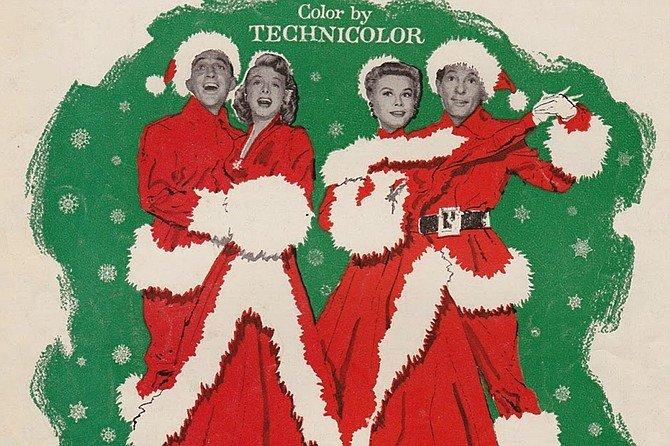 White Christmas: Bing Crosby, Rosemary Clooney, Vera-Ellen, and Danny Kaye being held hostage on a VistaVision soundstage!