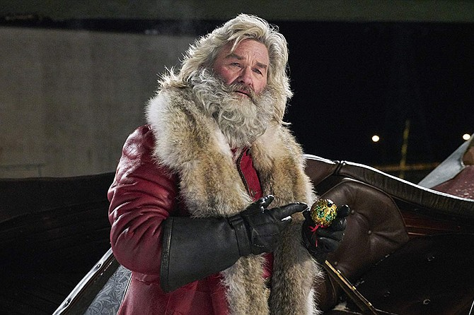 The Christmas Chronicles: Kurt Russell sinks his claws into Santa Claus.