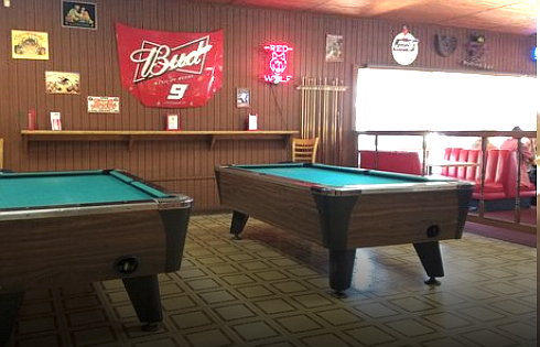 """""""The pool tables were a hundred apiece, can you believe that? Now, everything is gone except a few beer mirrors and Boll Weevil signs."""""""