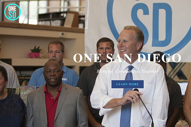 Kevin Faulconer has shut down his One San Diego charity.