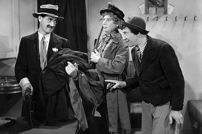 The Big Store: Laughs in store with Groucho, Harpo, and Chico Marx.