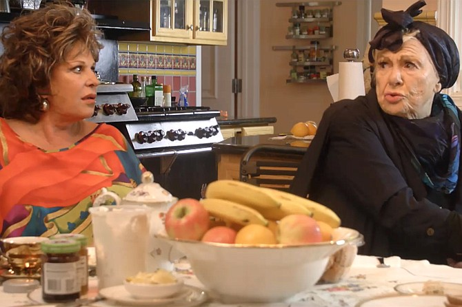 """Tango Shalom: Lainie Kazan and Renée Taylor co-star in a picture playing this year's San Diego Jewish Film Festival that has """"audience favorite"""" written all over it."""