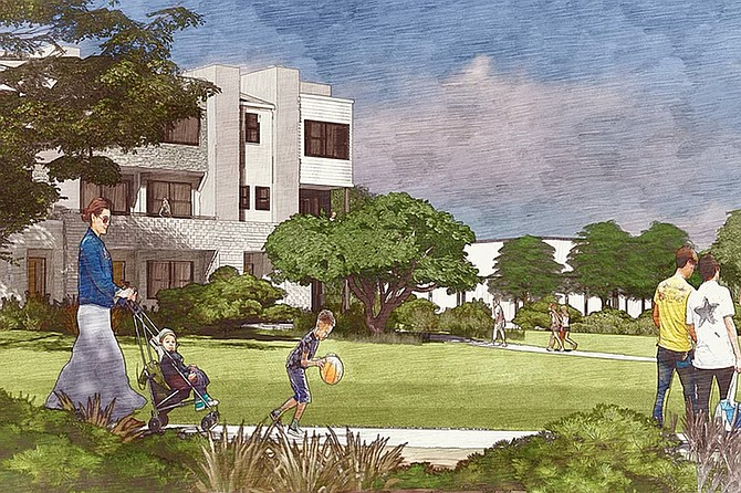 The Trails at Carmel Mountain West project seeks to redevelop the old Carmel Mountain Ranch Country Club golf course, shuttered since July 2018.