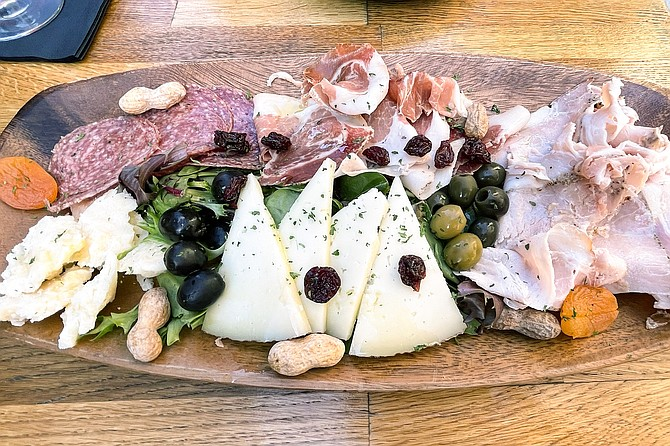 A $4 per selection, pick-it-yourself Italian meat and cheese board