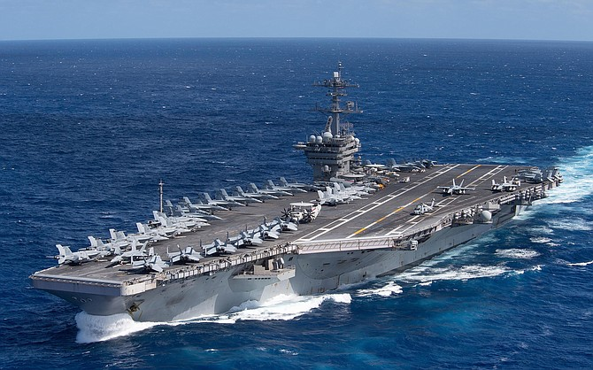 Twenty-five percent of the USS Theodore Roosevelt's crew turned up positive for the virus, and one crew member died.