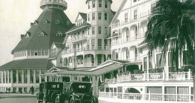 """Hotel del Coronado """"is the most magnificent example extant of the American seaside hotel as it flourished in that era on both coasts."""""""