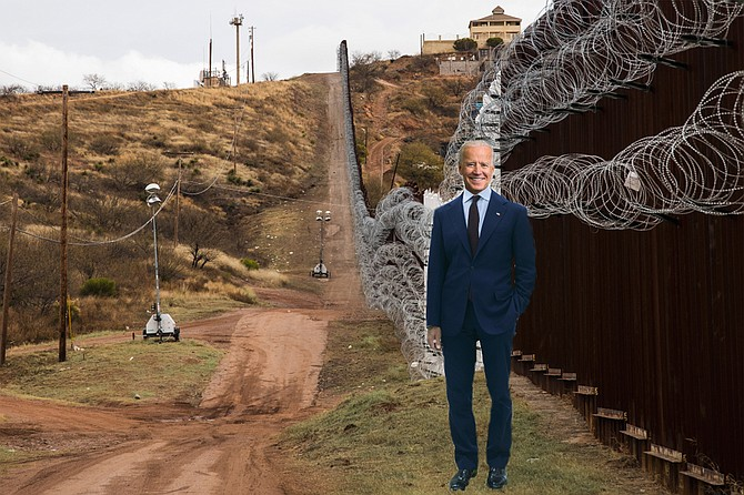 """A giant-sized Biden animatronic stationed on the Mexican side of the border well plays a recorded message that welcomes """"brave men and women seeking a better life,"""" before explaining that the newly installed concertina wire is there to protect them from """"the dangers involved in unprotected travel through the desert,"""" as well as """"the threat posed by predatory human traffickers."""" The Bidenbot then instructs the """"pilgrim travelers"""" to visit the """"safe, legal, and soon-to-be-functional"""" immigration centers in Tijuana before thanking them for their interest in the United States, assuring them that they are exactly the sort of people that the United States wants and needs right now, and playing a recording of """"Despacito."""""""