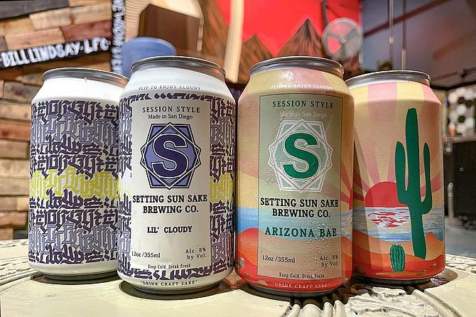 Two new session sake releases marks the beginning of canned sake for Setting Sun Sake.
