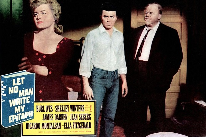 Let No Man Write My Epitaph: Shelley Winters, James Darren, and Burl Ives burrow through the muck and mire so you don't have to.