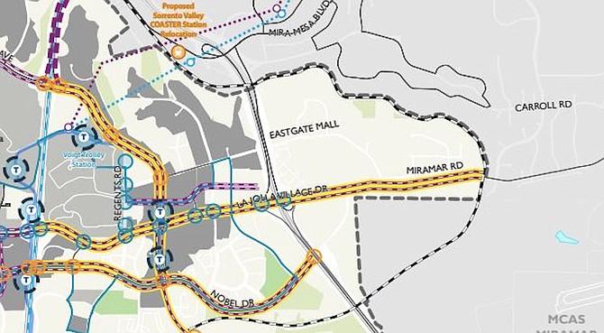 Skyway map