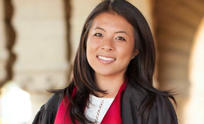 2015 Stanford University graduate Nika Soon-Shiong