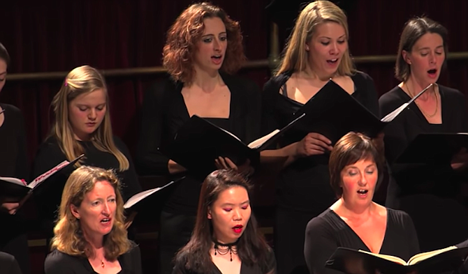 Handel's Messiah is the piece of music I've sung more than any other.