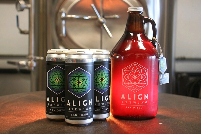 After being closed for nearly a year, Align Brewing has reopened with 16-ounce crowlers, growler fills, and outdoor, on-premise service. - Image by Jake Deardorff