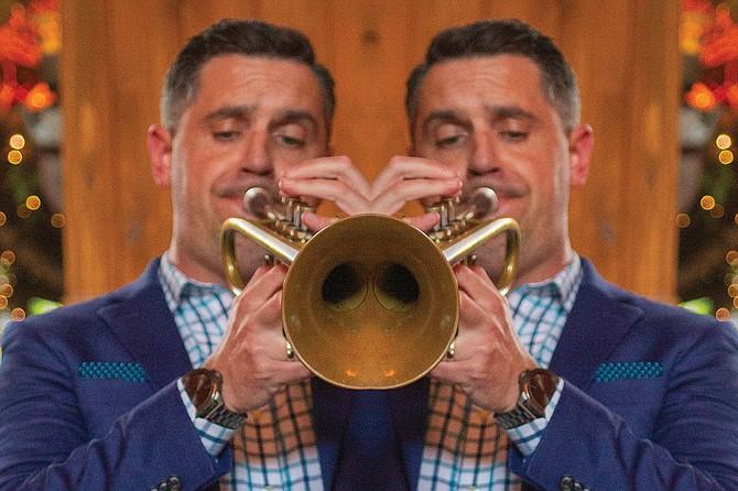 One of San Diego's best kept secrets:  trumpeter John Reynolds Tuesday Night Jazz Series at Madison on Park.