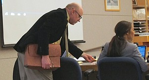 Jeffrey Barton during one trial in 2015.