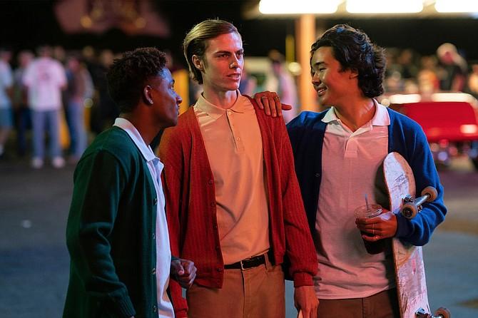 North Hollywood:another Saturday night cruising the Big Boy's with Adolf (Aramis Hudson), Michael (Ryder McLaughlin), and Jay (Nico Hiraga).