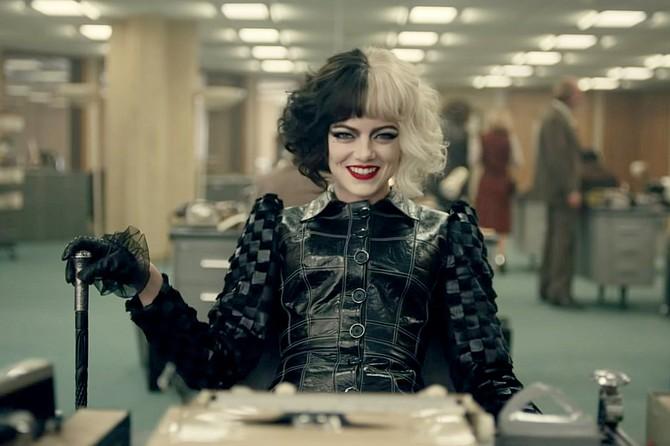 Cruella: unusual punishment from Emma Stone.