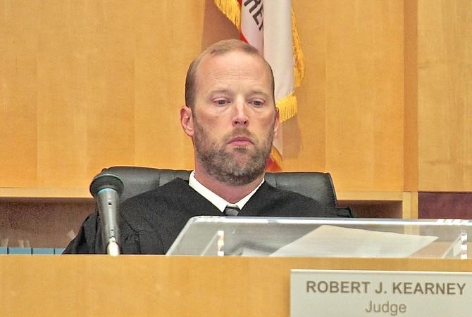 Hon. judge Robert Kearney. Photo by Eva Knott.