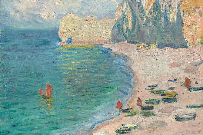 Join Robin Douglas for a short presentation focused on Monet and create your own coastal masterpiece using provided supplies.