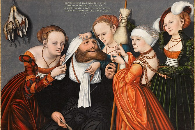 The pastoral delights featured in the Museum's exhibition Cranach to Canaletto: Masterpieces from the Bemberg Foundation serve as the inspiration for a midsummer afternoon of performances by the San Diego Shakespeare Society set in the May S. Marcy Sculpture Garden.