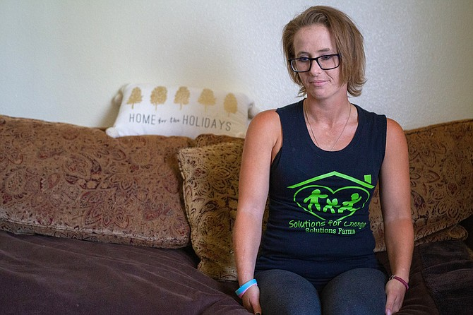 """Brittney Powers: """"I knew something had to change. I knew if I didn't get my girl back, I was going to end up dead with a needle in my neck, on the street."""""""