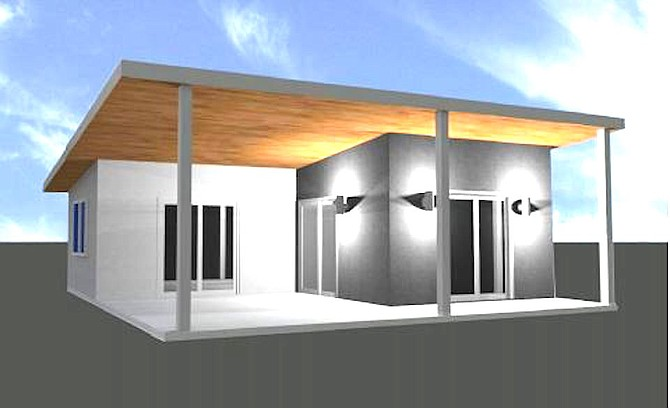 One-bedroom proposed affordable unit for Encinitas