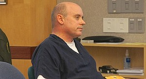 Barton at a pre-trial hearing in 2014. Photo by Eva Knott.