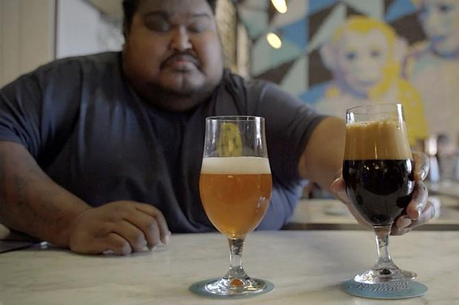 Nate Soroko, appearing in the new documentary, Beer City San Diego.