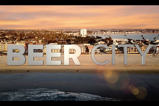 Title card from the documentary Beer City: San Diego