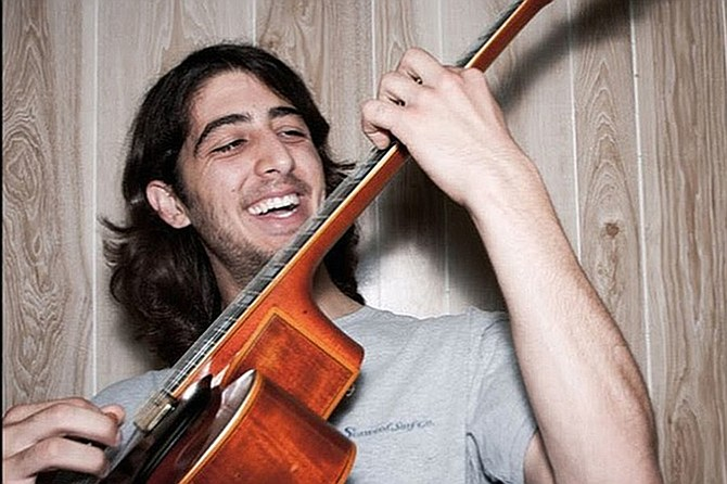 Why is Louis Valenzuela smiling? Because live music is back, and he's streaming it, too.