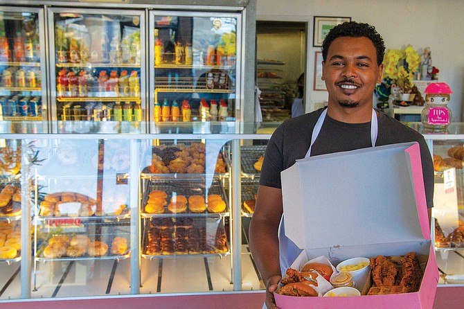 Ethiopia-born entrepreneur, Genemo Ali, recalls the impression waffles made on him as a young immigrant first arriving in San Diego.