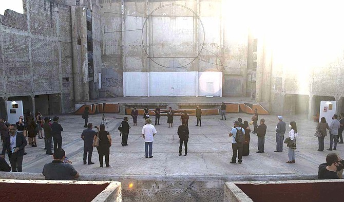 In 1994 the Bujazan Cinema caught fire. - Image by Luis Gutierrez