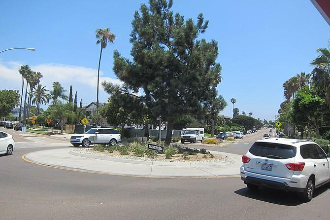 Crossroads Roundabout on La Jolla Blvd.