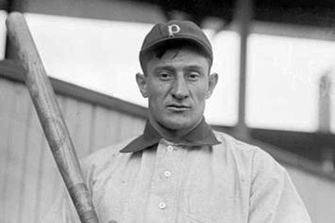 """Honus Wagner: """"You pitchin' to me?"""""""