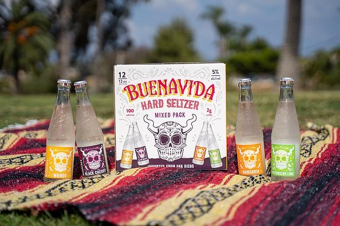 Well Stone the crows, it's Buenavida hard seltzer!