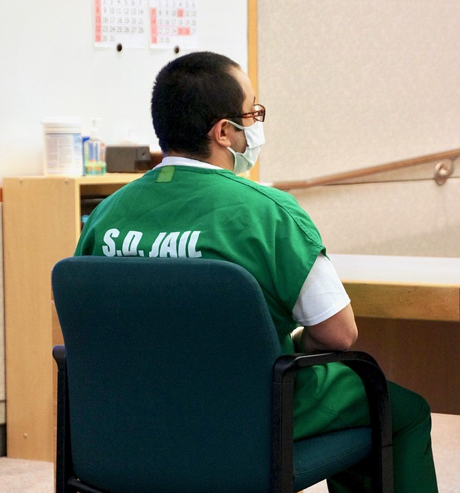 Roberto Flores was removed. Photo by Eva Knott.