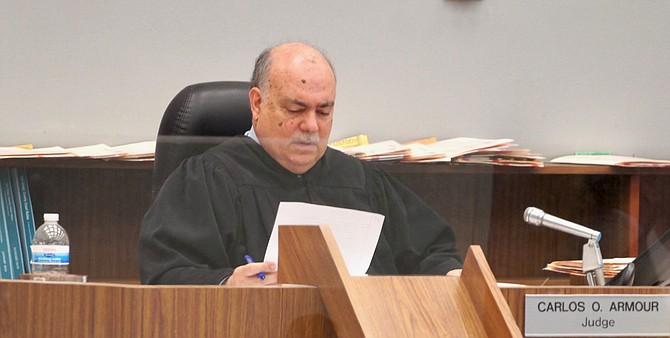 Hon. judge Carlos Armour. Photo by Eva Knott.