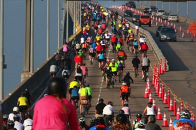Bike the Bay started 12 years ago as a non-competitive community bike ride is for riders of all abilities and will take you on a scenic, and primarily flat 25 mile ride, around the San Diego Bay via the Bayshore Bikeway.
