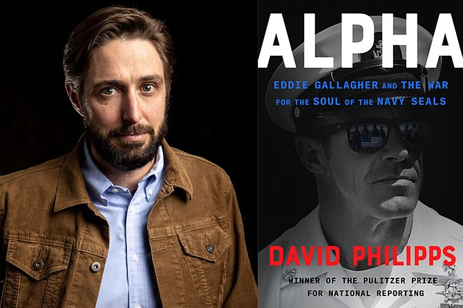 David Philipps discusses his new book, Alpha: Eddie Gallagher and the War for the Soul of the Navy SEALs, in conversation with Brad Willis