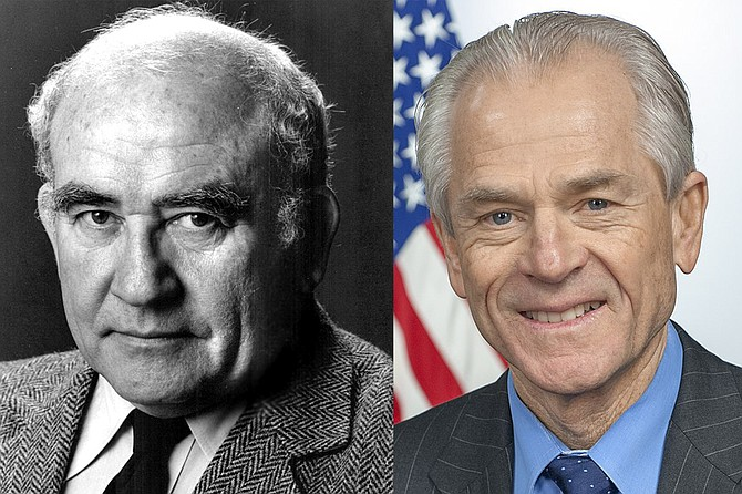 """Ed Asner shot a TV spot on behalf of then-Democrat Peter Navarro. """"Let me confess that Ed Asner was not my first choice to do the 'Vote of Your Life' commercial,"""" wrote Navarro in his memoir, """"San Diego Confidential."""""""