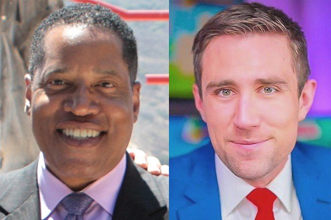 Larry Elder and Kevin Paffrath: harvested more votes than third-place Kevin Faulconer.
